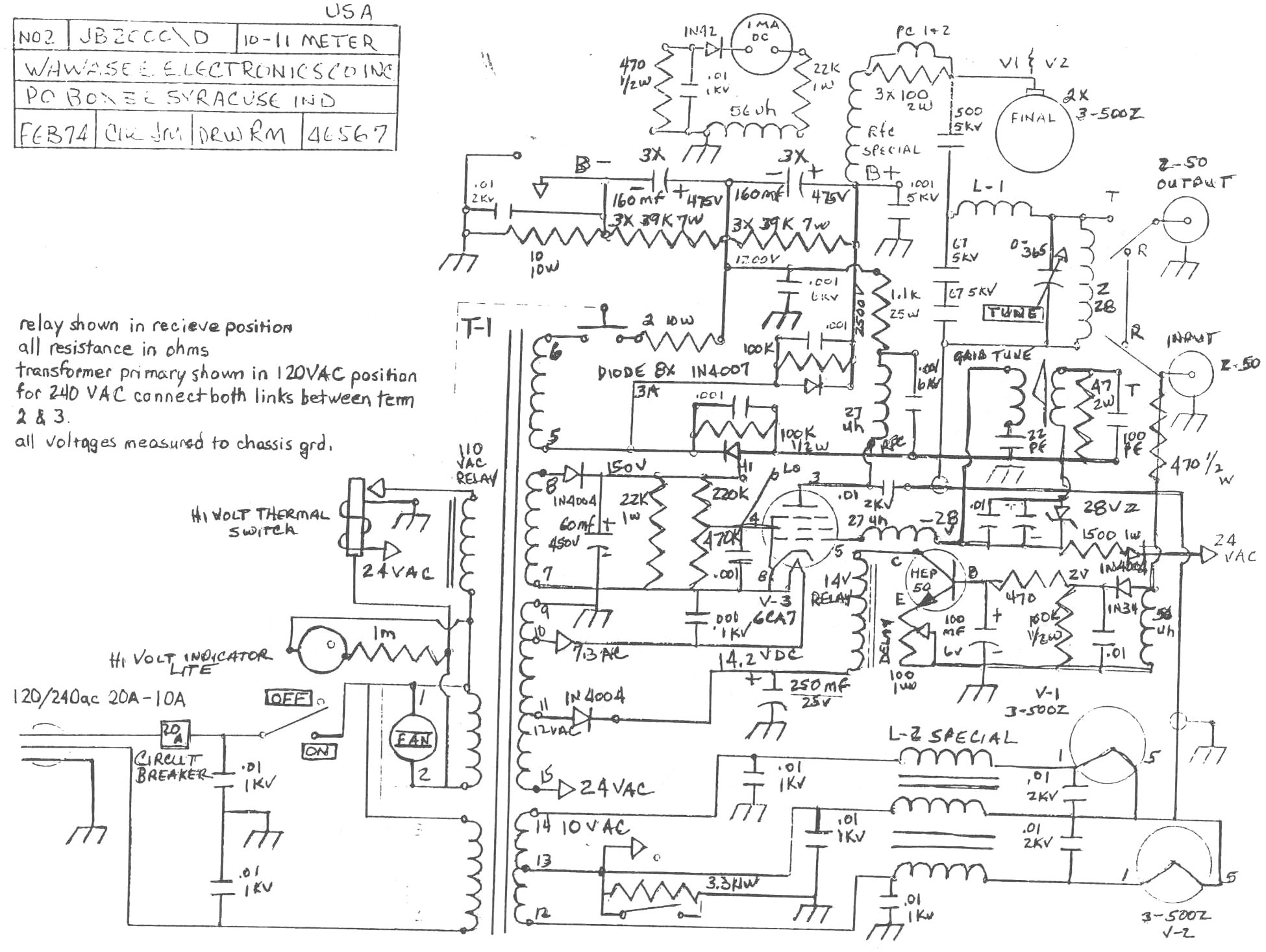 1994 Toyota Pickup Wiring Diagram additionally Rf  lifier Circuits also 1968 Pontiac Firebird Starter Wiring Diagram together with Multimode3 furthermore Lemo Wiring Diagram. on cb radio diagrams