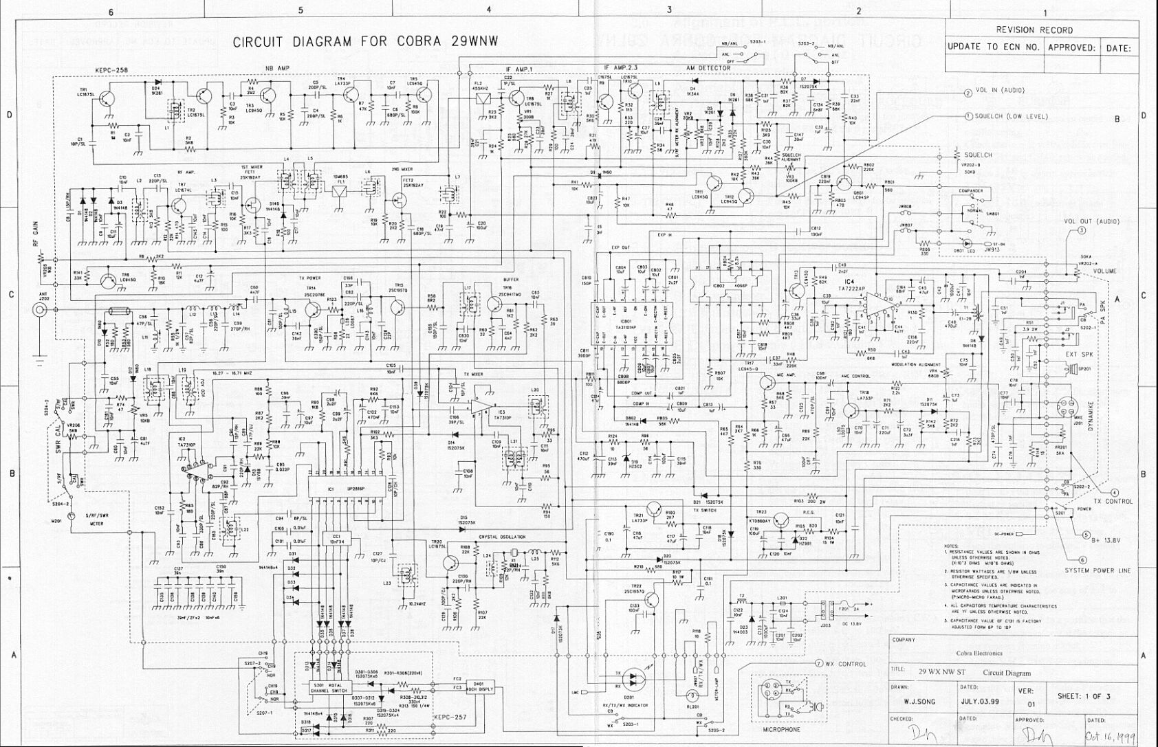 29%20wxn%20schematic Ranger Cb Radio Mic Wiring on