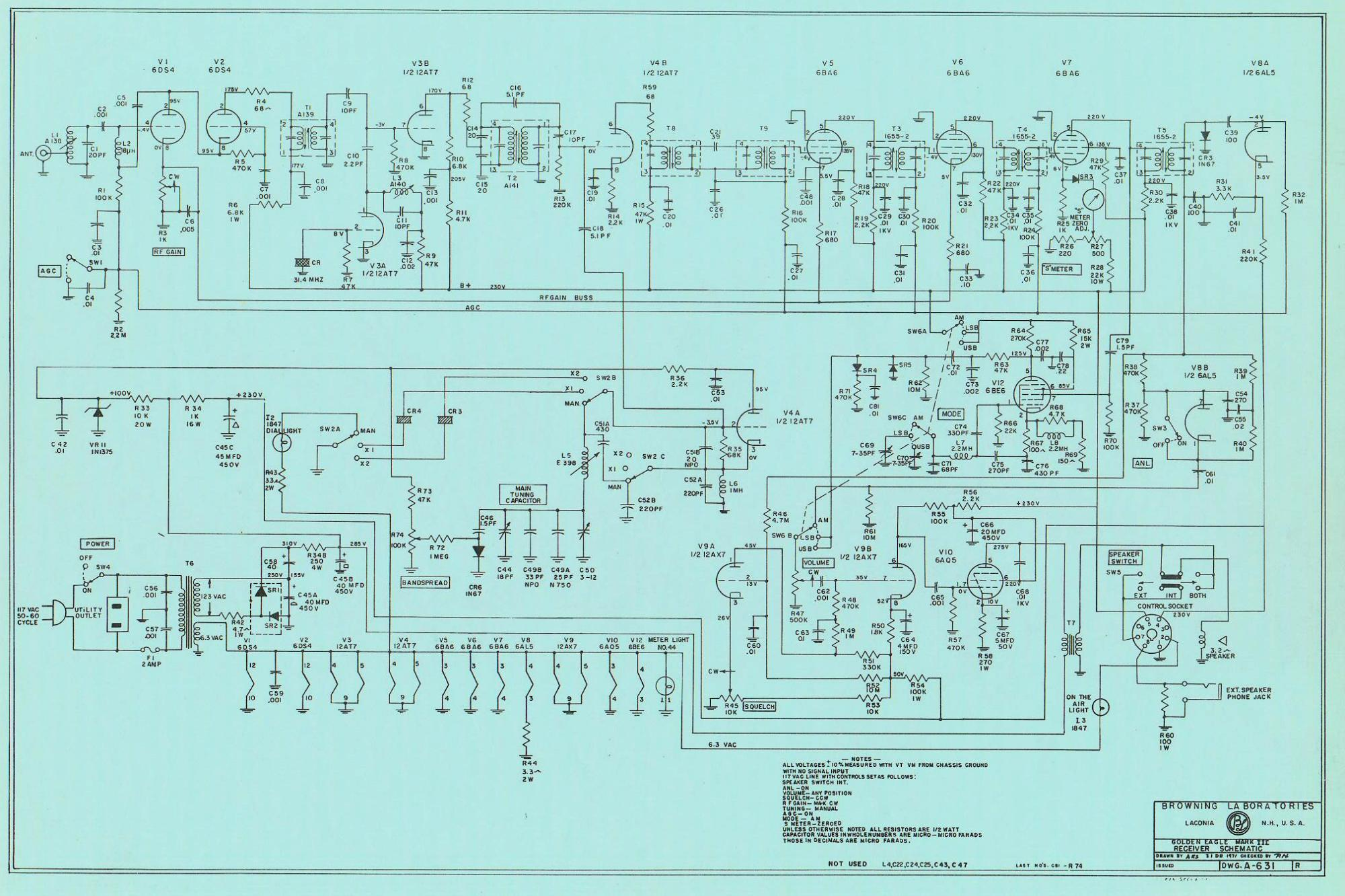 Service Manual · Channel Expansion. DIAGRAMS Transmiter Schematic