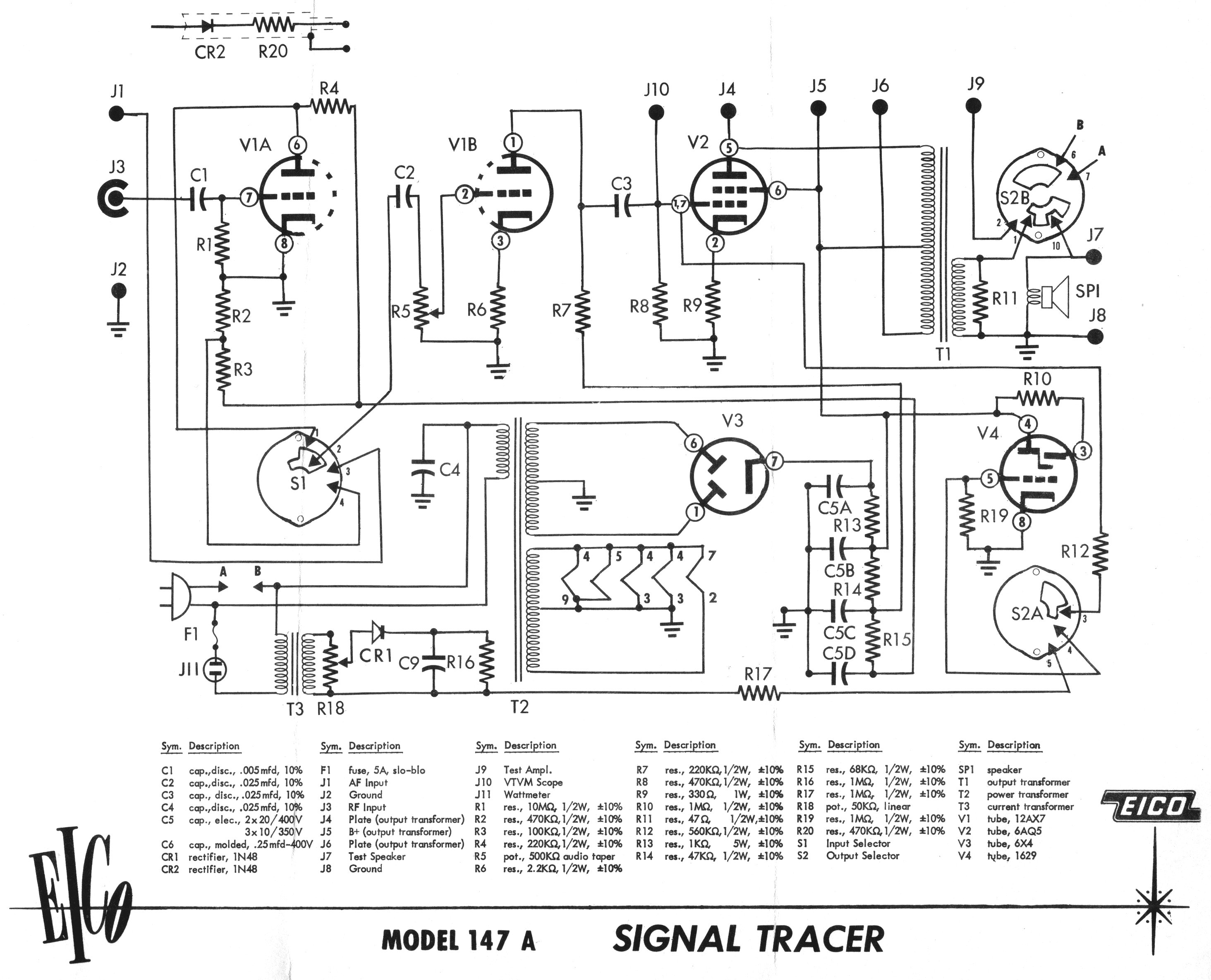 make a signal tracer