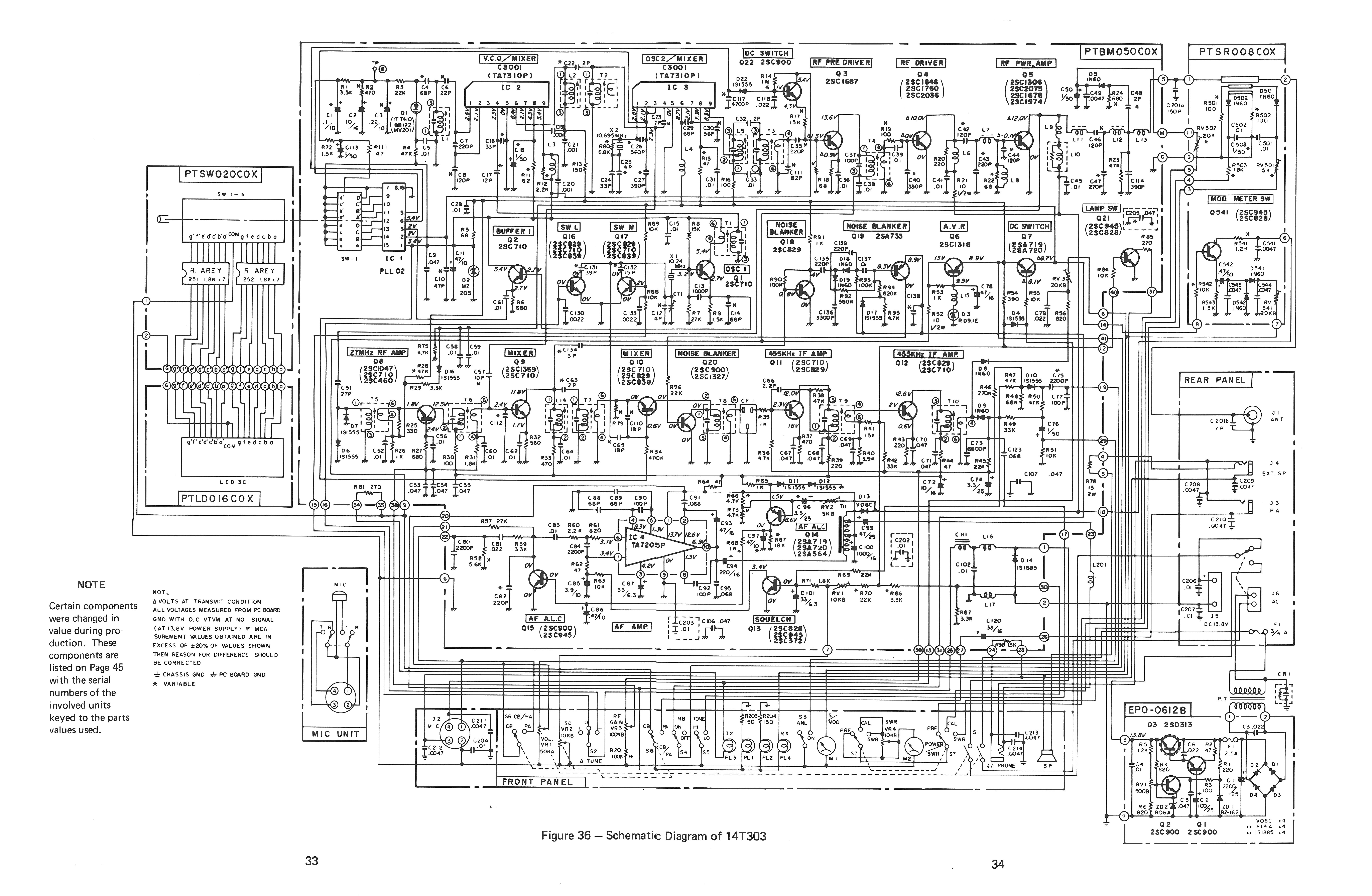 Rca 14t260 14t270 14t303 14t304 14t305 Ccc Wiring Diagram Page 33 34