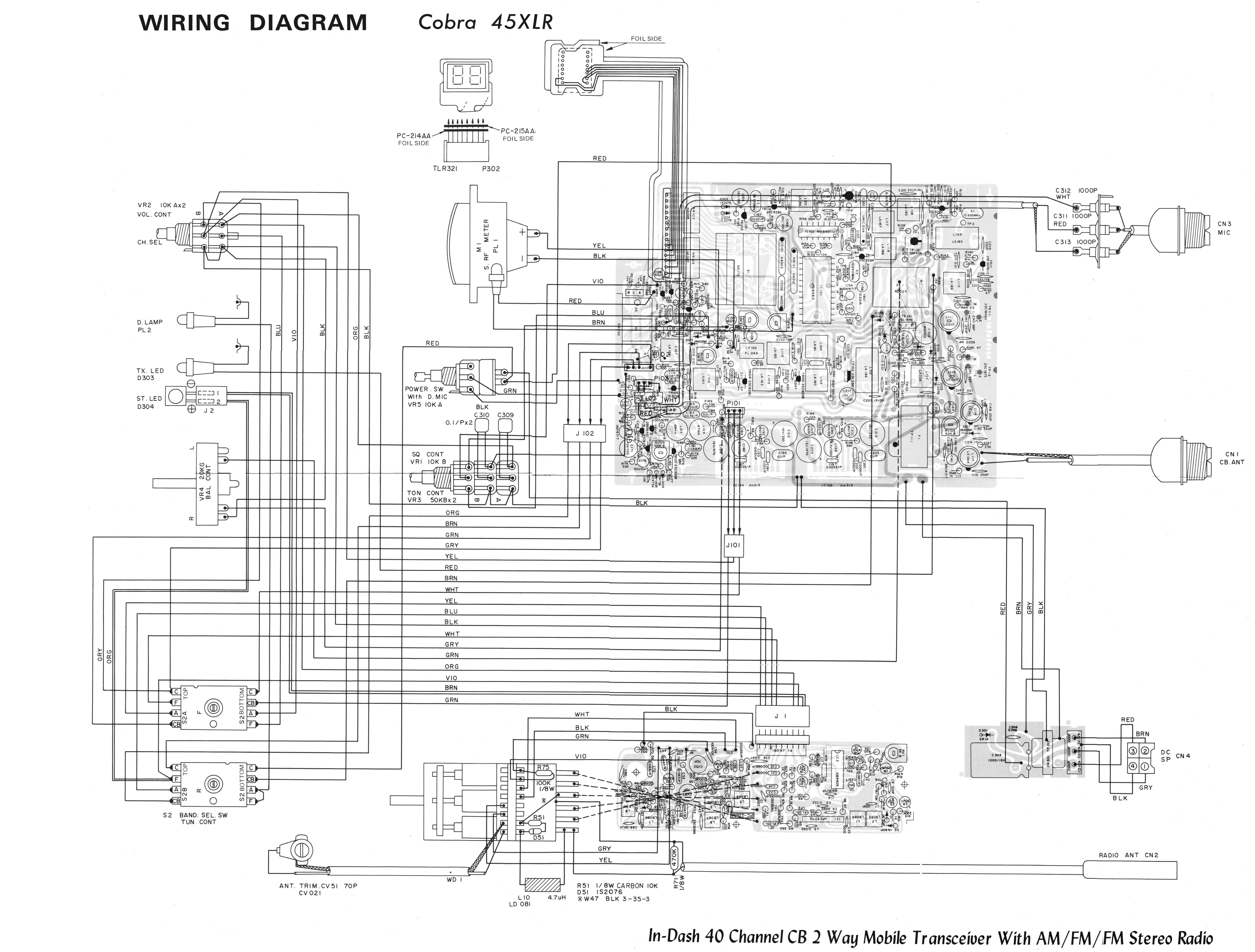 Midland Microphone Wiring Diagram Jack Maxon Cb Radio Wirdig Diagrams Pictures