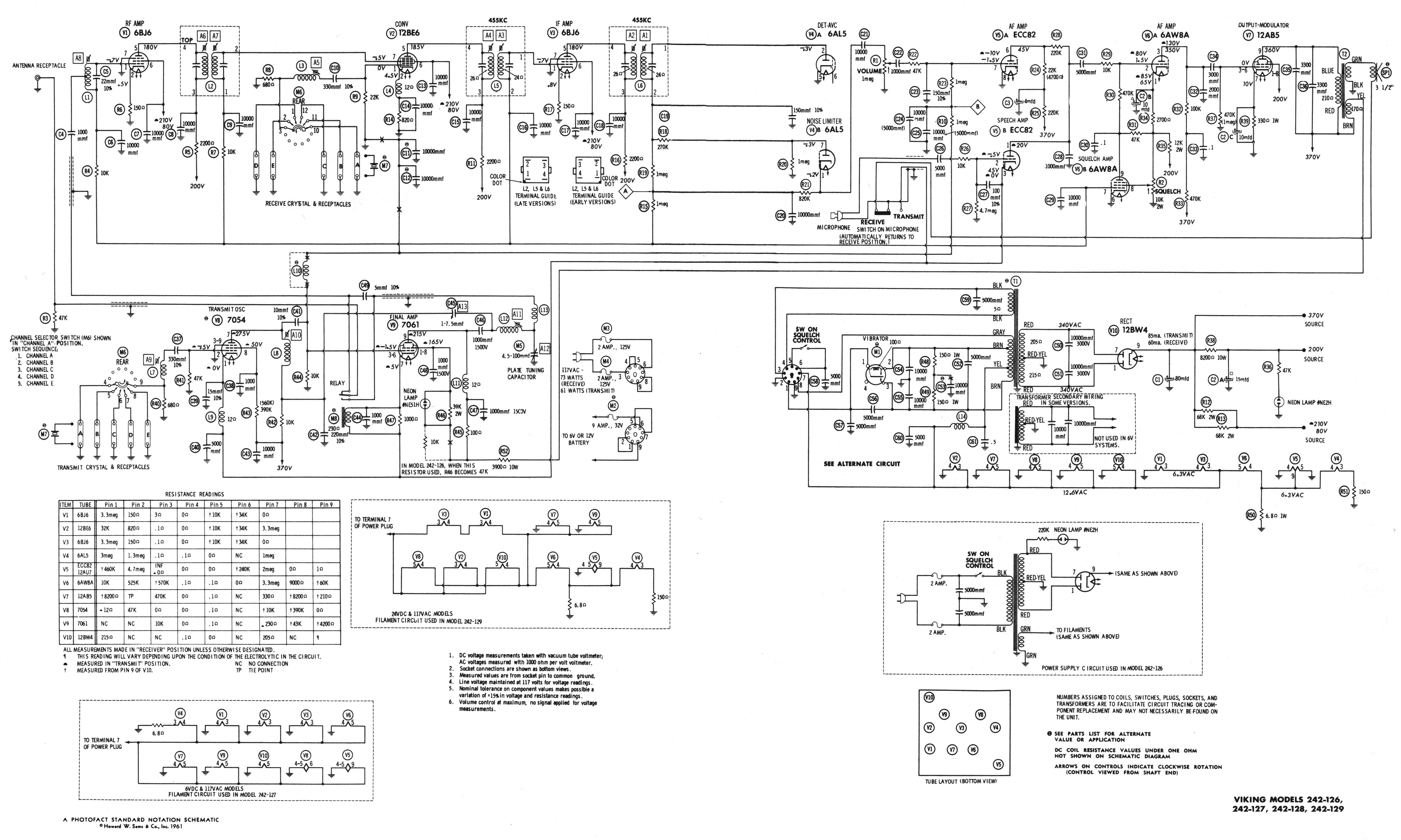 Johnson Radio Wiring Diagram Opinions About Microphone Schematic Messenger 250 Mic 40 Images Diagrams Gsmportal Co Schematics