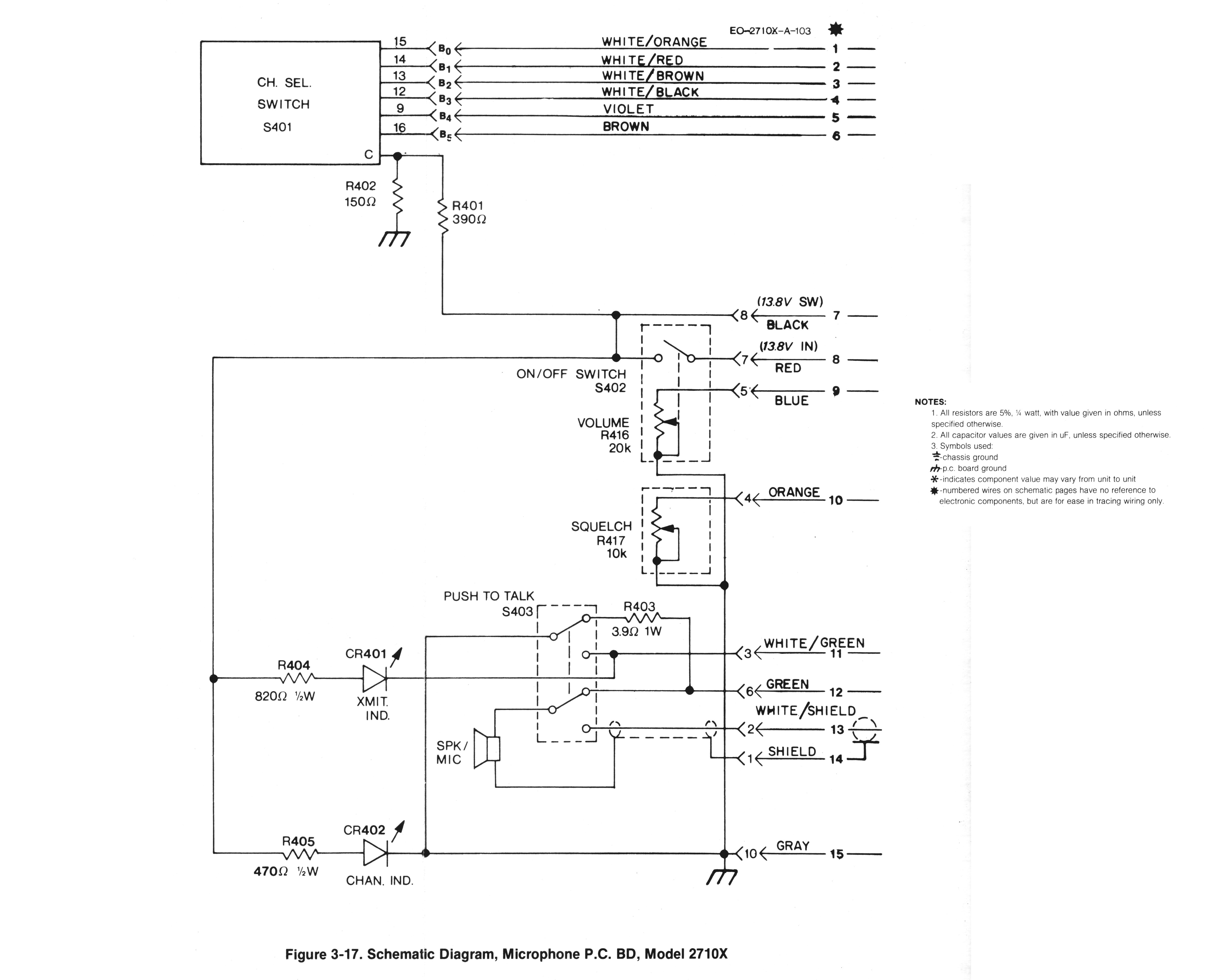 Wiring Diagram For Sel Microphone And Schematics Also Astatic D 104 On I Recording Equipment Source Electret