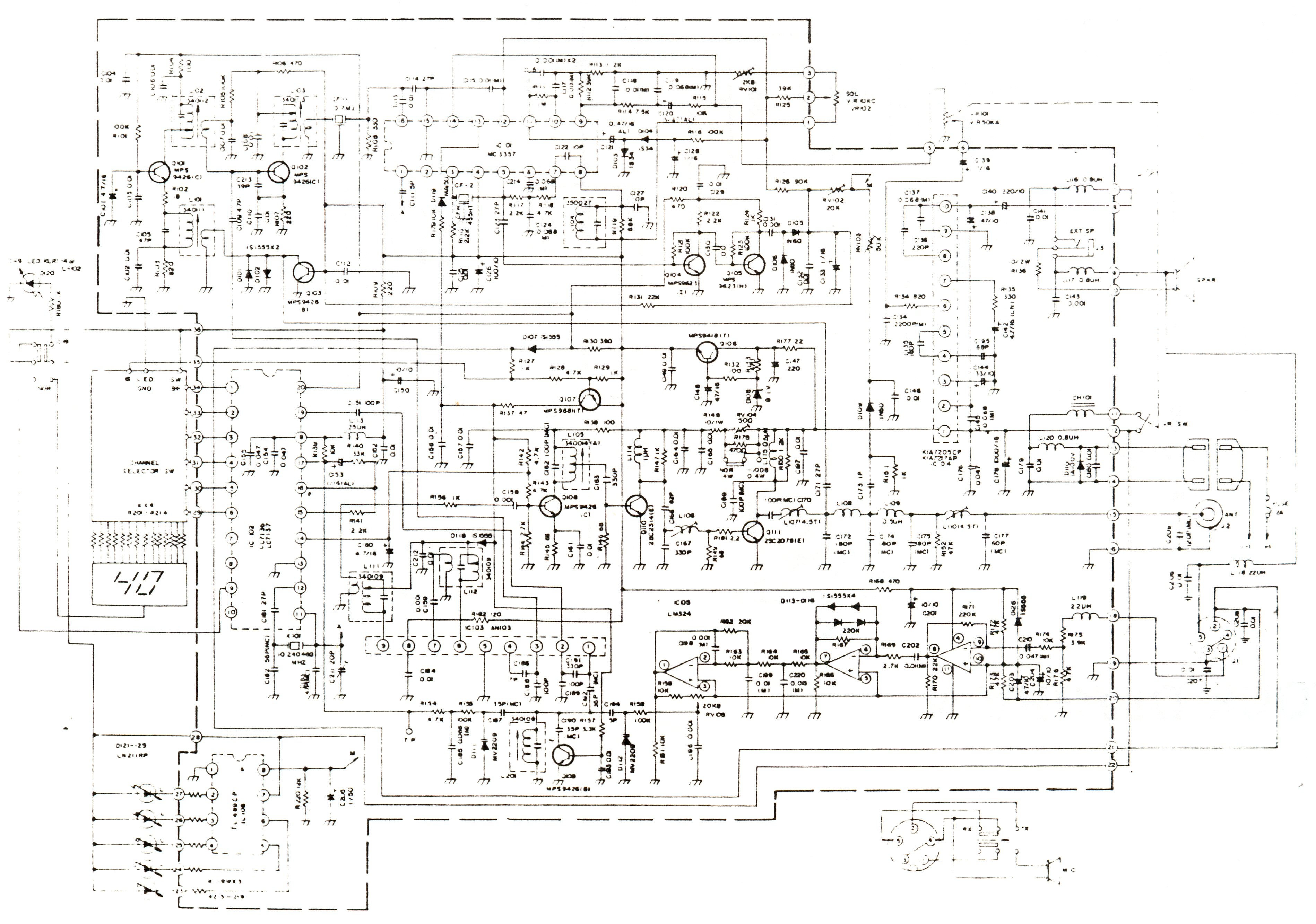 Maxon Cb Wiring Diagram Library Schematic