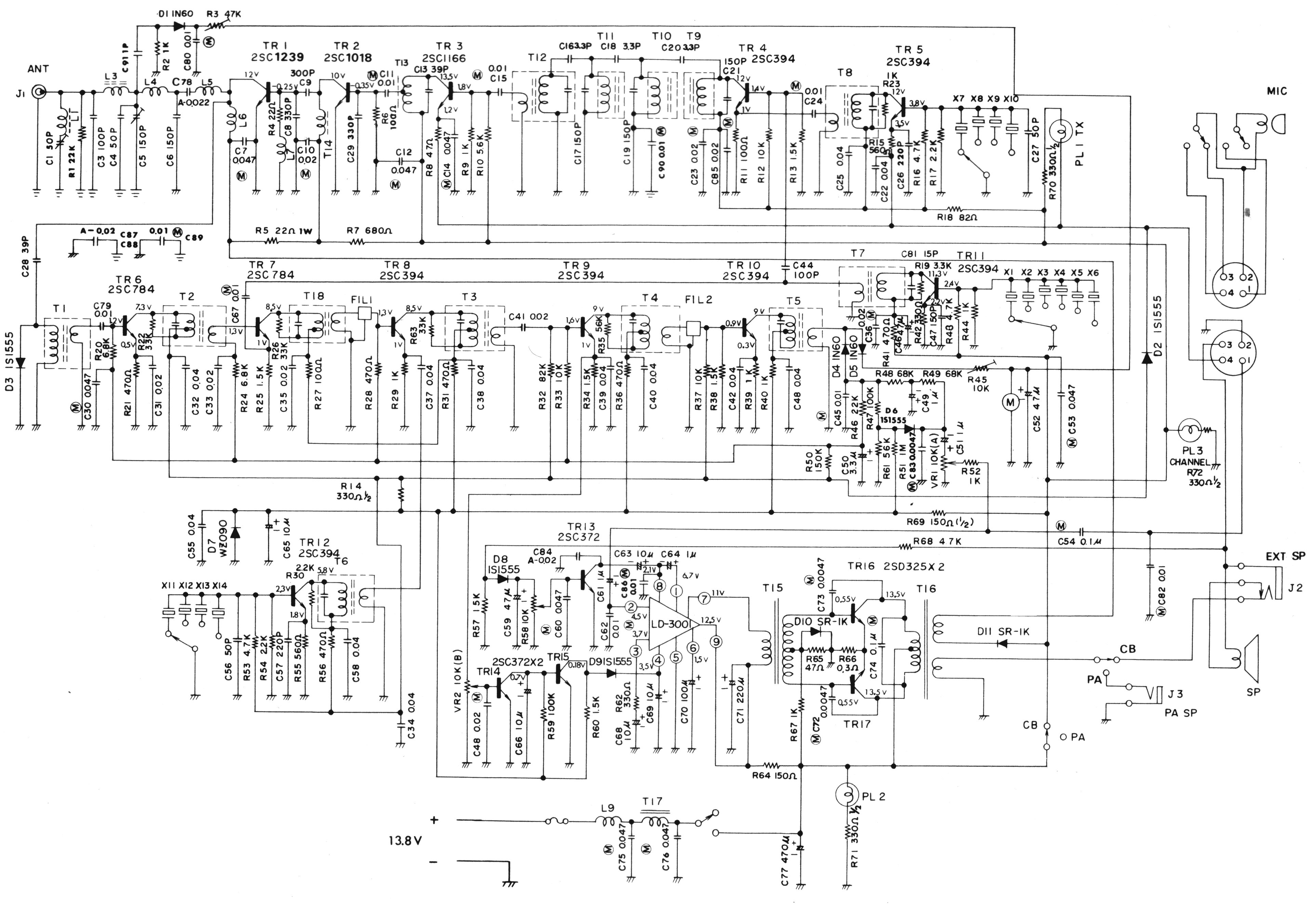Midland Cb Microphone Wiring Diagram Will Be A Thing Harness Radio Diagrams Get Free Image About 38 Mic