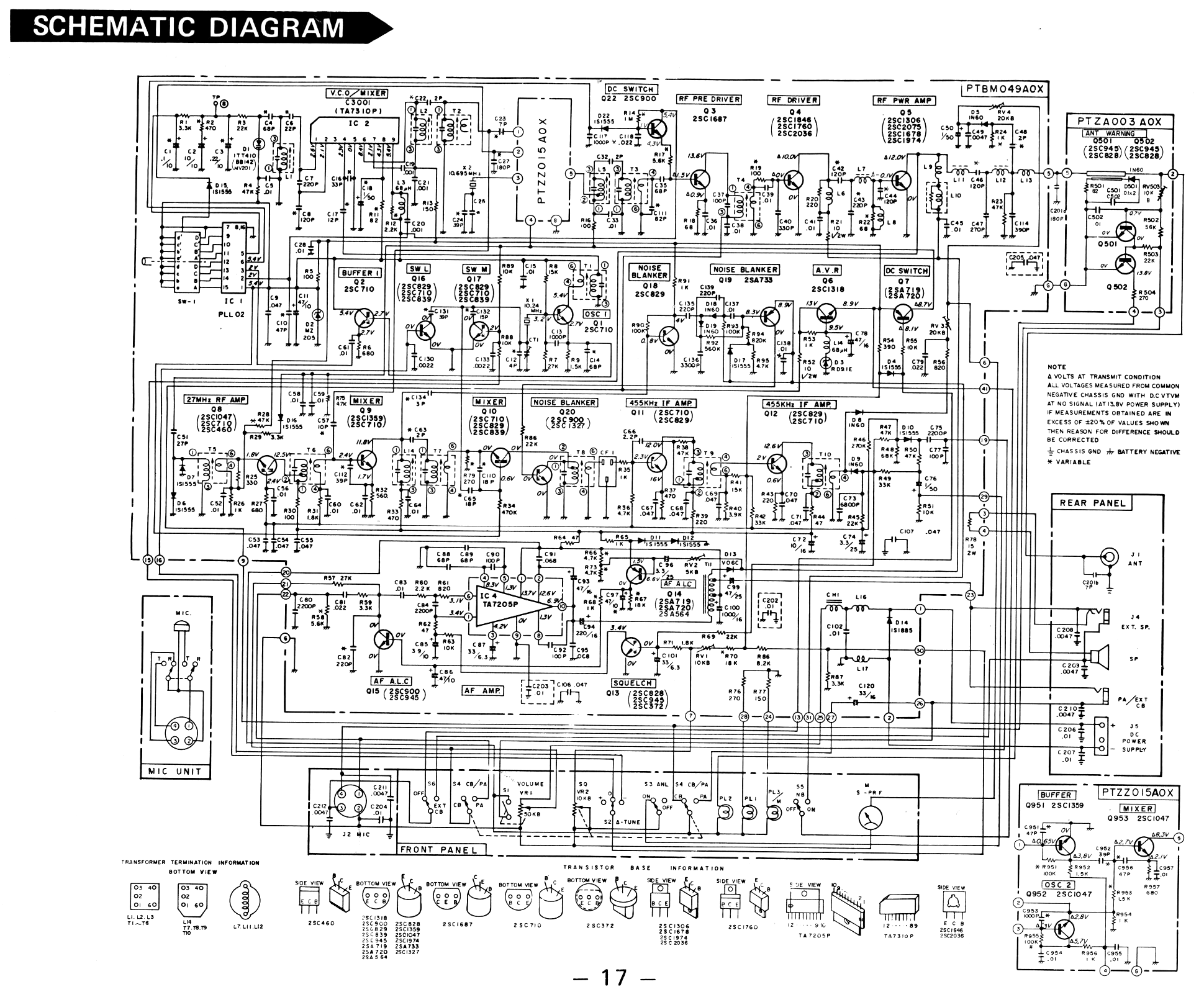 Dm 452 Microphone Wiring Diagram Free For You Midland 55s Xlr